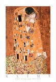 Gustav Klimt The Kiss Le Baiser Art Print Poster Poster