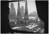 New York City St Patrick's Cathedral Window Archival Photo Poster Print Prints