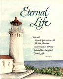 Eternal Life (Lighthouse) Art Print Poster Plakater