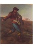 Jean-François Millet (II) (Sower) Art Poster Print Print