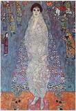 Gustav Klimt Portrait of Baroness Elisabeth Bachofen Art Print Poster Photo