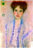 Gustav Klimt Portrait of Gertha Fersovanyi Art Print Poster Posters