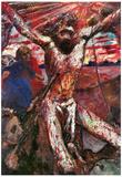 Lovis Corinth Red Christ Art Print Poster Prints