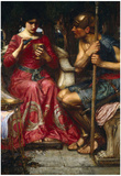 John William Waterhouse Jason and Medea Art Print Poster Prints