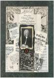 Linda Jade Charles JS Bach composer Art Print Poster Posters