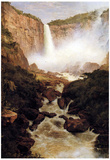 Frederick Edwin Church Tequendama Falls near Bogota New Granada Art Print Poster Posters