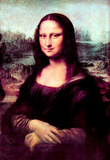 Leonardo da Vinci (Mona Lisa (La Giaconda)) Art Poster Print Masterprint