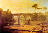 Joseph Mallord Turner Whalley Bridge Art Print Poster Posters