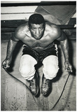 Floyd Patterson Jumping Rope Archival Photo Sports Poster Print Prints