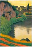 Felix Vallotton Landscape Semur Art Print Poster Posters