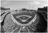 Comiskey Park Chicago White Sox Black White Archival Photo Poster Prints