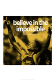 Florence Griffith-Joyner Impossible Quote iNspire Poster Print