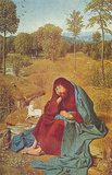 Geertgen tot Sint Jans (John the Baptist) Art Poster Print Masterprint