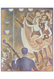 Georges Seurat (Can-Can (Le Chahut)) Art Poster Print Photo
