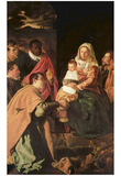Diego Velázquez (Adoration of the Magi (Epiphany)) Art Poster Print Posters