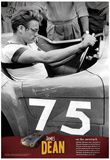 James Dean On the Racetrack Archival Photo Movie Poster Print Posters