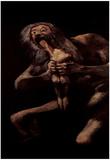 Francisco de Goya y Lucientes, Saturn Swallows One of His Children, Art Poster Print Prints