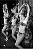 Desert Inn Dancers Las Vegas 1967 Archival Photo Poster Print
