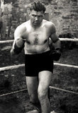 Jack Dempsey In Boxing Ring Archival Photo Sports Poster Print Masterprint