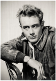 James Dean Smoking Archival Photo Movie Poster Print Posters