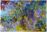 Claude Monet Wisteria 2 Art Print Poster Poster