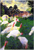 Claude Monet The Gobbler Art Print Poster Print