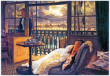 James Jacques Joseph Tissot A storm Moves Over Art Print Poster Poster