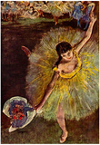 Edgar Degas End of the Arabesque Art Print Poster Prints