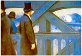 Gustave Caillebotte Le Pont de L'Europe Art Print Poster Prints