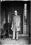 General Robert E Lee (Portrait, House) Art Poster Print Poster