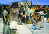 Lawrence Alma-Tadema A consecration of Bacchus, detail 1 Art Print Poster Masterprint