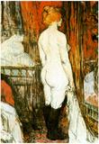 Henri de Toulouse-Lautrec Female Nude Art Print Poster Print