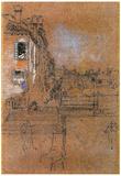 James Whistler Venetian Canal Art Print Poster Poster