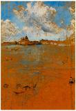 James Whistler Venetian Scene Art Print Poster Posters
