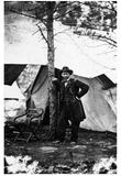 General Ulysses S Grant (At Cold Harbor, VA) Art Poster Print Prints