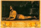 Franz von Stuck Sphinx Art Print Poster Print