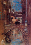 James Whistler San Rocco Art Print Poster Masterprint