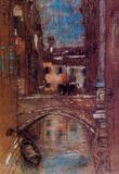James Whistler San Rocco Art Print Poster Masterprint