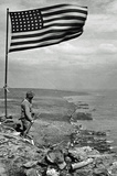 Iwo Jima WWII Archival Photo Poster Print Masterprint
