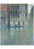 Claude Monet (Palazzo Dario, Venice) Art Poster Print Prints