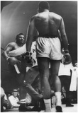 Cassius Clay vs Floyd Patterson 1965 Muhammad Ali Archival Photo Sports Poster Poster
