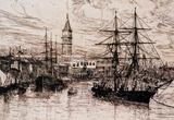 James Whistler View from Whistler's Window Art Print Poster Masterprint