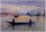 James Whistler The Giudecca Note in Flesh Colour Art Print Poster Print