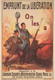 Emprunt de la Liberation War Bonds WWII War Propaganda Art Print Poster Masterprint