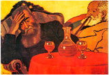 Joseph Rippl-Ronai Father and Uncle with the Red Wine Art Print Poster Print
