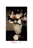 Edouard Manet Peonies Flower vase Art Print POSTER Posters