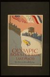 Lake Placid (Olympic Bobsled Run) Art Poster Print Masterprint