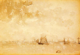 James Whistler Seascape a Grey Note Art Print Poster Masterprint