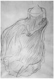 Gustav Klimt Costume Study Art Print Poster Posters