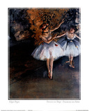 Edgar Degas Dancers On Stage Danseuses Sur Scene Print Poster Masterprint
